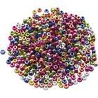 [NORDIC Brands] Plastpärlor Kongopärlor metallic 1000/FP